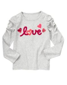 1014 NWT Gymboree Valentines Day 2014 Long Sleeve Top Size 4 Years #Gymboree #Everyday