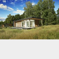 Sommerhaus PIU, a 750 sq ft 2 bedroom pre-fabricated dwelling designed by Patrick Frey and Björn Gotte