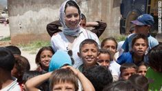Lucy Liu's mission to help Syrian children