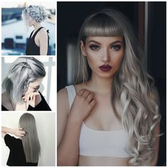 Latest Grey Hairstyle Ideas