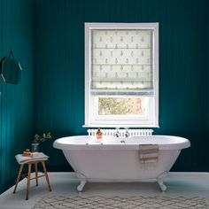 Create a dramatic yet tranquil setting in your bathroom with Newby Green from the Sanderson Paint collection. Peacock Bathroom, Turquoise Bathroom, Bathroom Decor Pictures, Bathroom Pictures, Bathroom Ideas, Bathroom Interior Design, Decor Interior Design, Interior Decorating, Interior Ideas