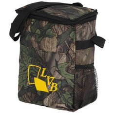 Take this camo cooler on your next outdoor promotion!
