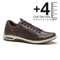 Sapatênis Masculino Comfort Adaption Air Equus - Café