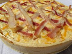 Quiche croque-pizza Ana Sevilla con Thermomix