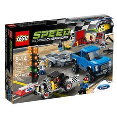 LEGO Ford F-150 Raptor and Ford Model A Hot Rod $39.99!