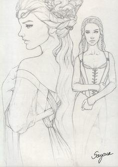 Character Design - Elyssia by Sayara-S.deviantart.com on @DeviantArt