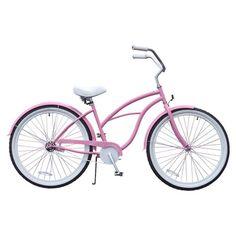 Pinky McGee Womens 26 Beach Cruiser Bicycle