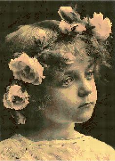 A personal favorite from my Etsy shop https://www.etsy.com/listing/285429389/cross-stitch-pattern-victorian-child