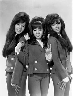 The grand bouffants of The Ronettes
