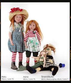 Коллекционная кукла Malu от Zwergnase