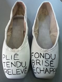 need to do this to my pointe shoes