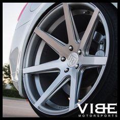 "19"" Rohana Rc7 Silver Concave Wheels Rims Fits Infiniti M35 M45"