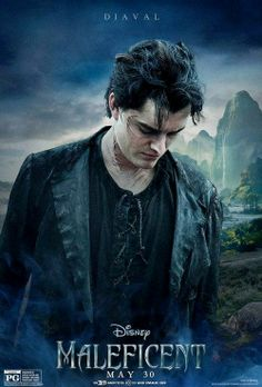 Diaval (Sam Riley) - He was my favourite part of the movie.