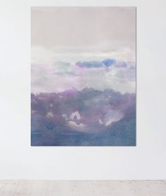 Large Abstract Landscape Print Art Landscape by VivianCaits