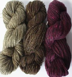 Spinning Yarns Weaving Tales - 'Red wine & Tapenade' 100% Merino Laceweight Yarn sample pack for Knitting, Crochet, Warp & Weft $14.75 AUD