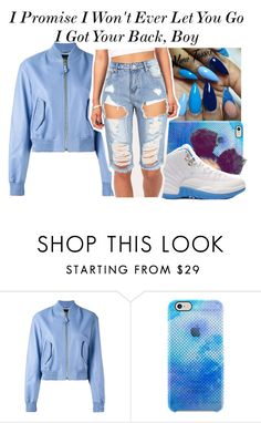 """//I Got Your Back//"" by be-you-tiful-flower ❤ liked on Polyvore featuring V2 by Versace, Uncommon and Retrò"