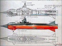 Atragon submarine