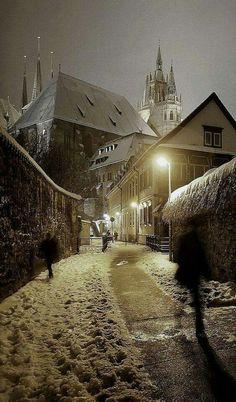 Erfurt IM WINTER