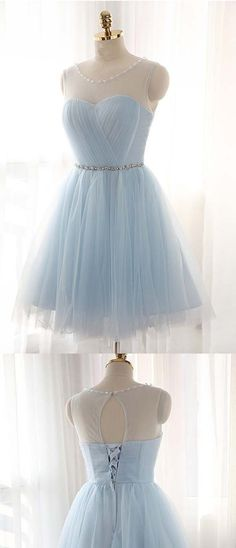 d5b2cb125f0 Charming Tulle Short Prom Dresses Homecoming Dresses PG019  homecoming   homecomingdresses  tulle  kneelength