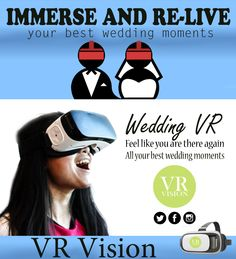 Virtual reality wedding #vrwedding #360wedding #virtualreality #virtualrealitywedding Wedding Moments, Live For Yourself, Vr, Virtual Reality, Like You, In This Moment, Feelings