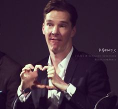 BFI Sherlock screening << Ben. What is your face? we have collective sign ... to the ben cave!
