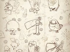 late nite birdie doodlin'  by ✖ Artur Hilger Follow