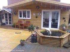 Cabin/Summerhouse from Garden |  #shedoftheyear