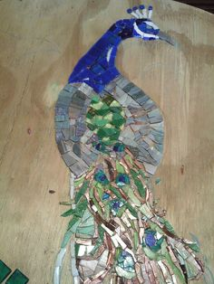 WIP - Rox by Laughing Loon Mosaics, via Flickr