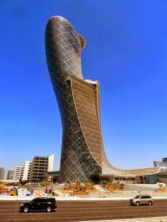 Hyatt Capital Gate -  Capital Gate Tower, Abu Dhabi.