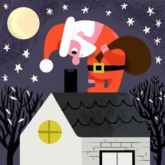 Latest works from illustrator Andy J. Mrs Claus, Father Christmas, Elves, Reindeer, Cardmaking, It Works, Creative, Illustration, Instagram Posts