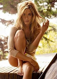 Jennifer Aniston - for so many reasons. Classy, lovely, intelligent, funny, sexy, high class.
