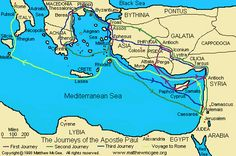 Chronology of Apostle Paul's Journeys and Epistles