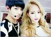 BTS Jungkook & Apink Naeun Apink Naeun, Bts Jungkook