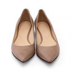 shoesbakery/プレーンパンプス パルマソフティ グレージュ 22.5cm
