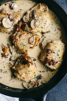 Champagne Chicken by