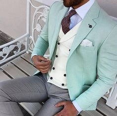 Spring colors #Elegance #Fashion #Menfashion #Menstyle #Luxury #Dapper #Class #Sartorial #Style #Lookcool #Trendy #Bespoke #Dandy #Classy #Awesome #Amazing #Tailoring #Stylishmen #Gentlemanstyle #Gent #Outfit #TimelessElegance #Charming #Apparel #Clothing #Elegant #Instafashion