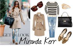 """Miranda Kerr"" by thequietstylist on Polyvore"