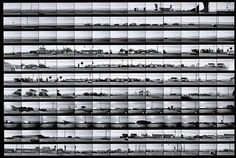 Contact sheet for Pacific Coast Highway Contact sheet for Pacific Coast Highway, negatives printed later, Ed Ruscha, gelatin silver print. Promised gift of Ed and Danna Ruscha to The Getty Research Institute, © Ed Ruscha Urban Photography, Video Photography, Appropriation Art, Contact Sheet, Internet Art, New Media Art, Sunset Strip, Pacific Coast Highway, Multiple Images