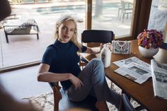 Tory Burch's duality: starring Ms Kate Bosworth, shot by yours truly.
