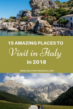 Looking to travel to Italy in 2018? The boot looking country can offer many wonderful #ItalyTravel