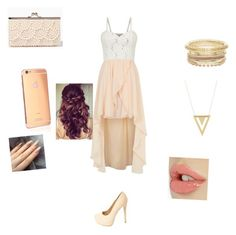 """love"" by calimybae ❤ liked on Polyvore featuring Cameo Rose, Charlotte Russe, Gorjana, Goldgenie and Retrò"
