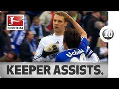 Top 10 Goalkeeper Assists - YouTube