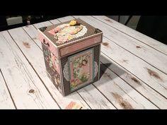 Graphic 45 Children's Hour Explosion Box Mini Album | My Sisters Scrapper | Bloglovin'