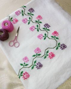Seccademiz renkleri harika olmuş gelsin yeni siparişler😊😊 #365daysofcrossstitch #stitchersgonnastitch #instastitch… Stitch 2, Cross Stitch, Doilies, Patches, Hair Accessories, Embroidery, Instagram, Mantel, Cross Stitch Baby