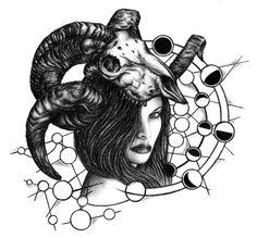 capricorn tattoo - Google Search