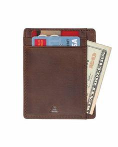 deef4b84e7e6 Slim Wallets for Men Id Wallet, Front Pocket Wallet, Long Wallet, Minimalist  Leather