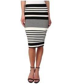 Trina Turk Adelisa Skirt Black/Ivory - Zappos.com Free Shipping BOTH Ways