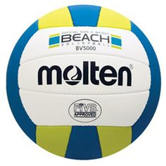 Volleyball - Molten's BV-5000 beach volleyball is meant to live outdoors and built to last.