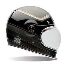 Bell Bullitt Carbon RSD Bagger Motorcycle Helmet Size