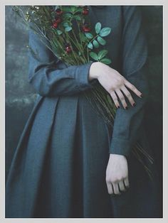 epochal- this shows leading lines, texture, still life of the flowers, and portrait